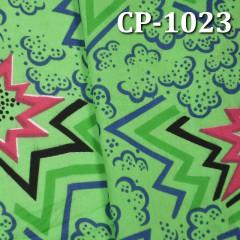 """全棉90x88平布印花 75G/M2 57/58"""" CP-1023"""