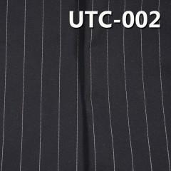 "UTC-002  T/C格子弹力色织布 格子图案弹力色织布 216g/m2 57/58"""