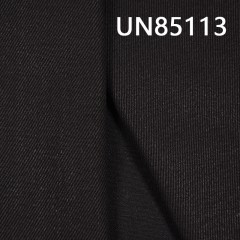 """UN85113 棉粘染底(黑经黑纬)四片右斜牛仔布12oz 62/63"""""""