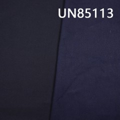 "UN85113 棉粘染底(蓝经黑纬)四片右斜牛仔布12oz 62/63"""