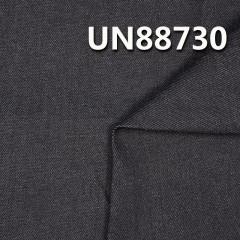 UN88730 1%弹力99%棉竹節右斜牛仔布  54/56'  10.5oz