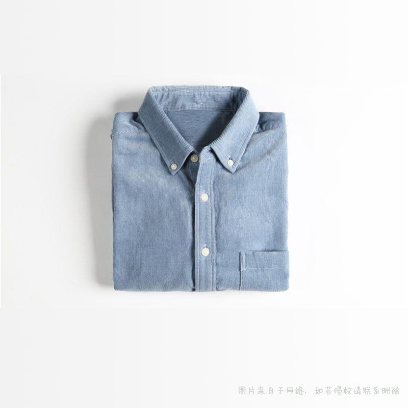 灯芯绒衬衫2
