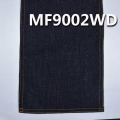 "MF9002WD 83.5%棉15.4%涤1.1弹力竹节右斜洗水牛仔布 57/58"" 9OZ(深蓝)"