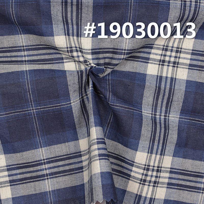 全棉学院风INDIGO色织格子 3.8OZ 57.5