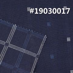 """全棉色织提花布 7.5OZ 58.5"""" 全棉INDIGO蓝色织提花双层布 #19030017"""
