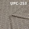 """全棉提花色织布 300g/m2 57/58"""" 100%棉菱形提花色织布 UPC-253"""
