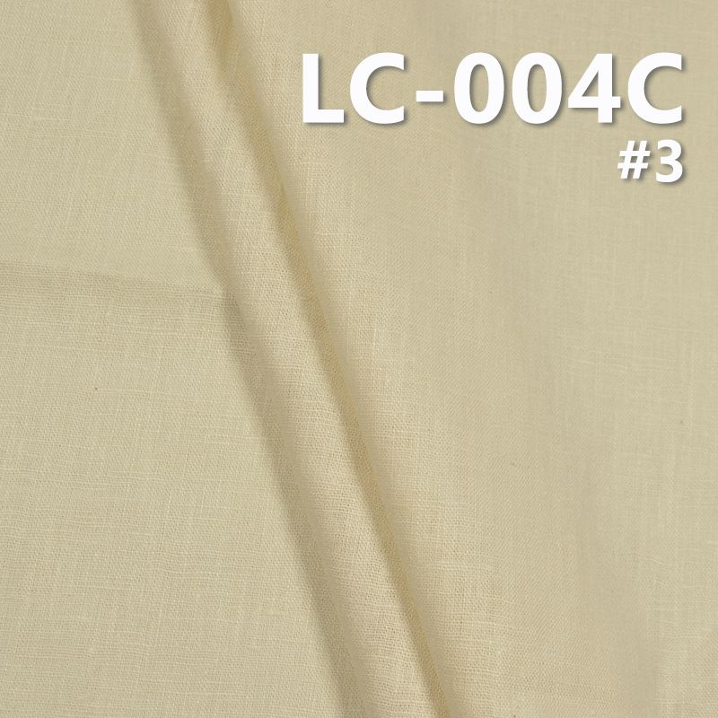 """麻棉染色布 220g/m2 43/44"""" 棉麻布料麻衣素衣 LC-004C"""