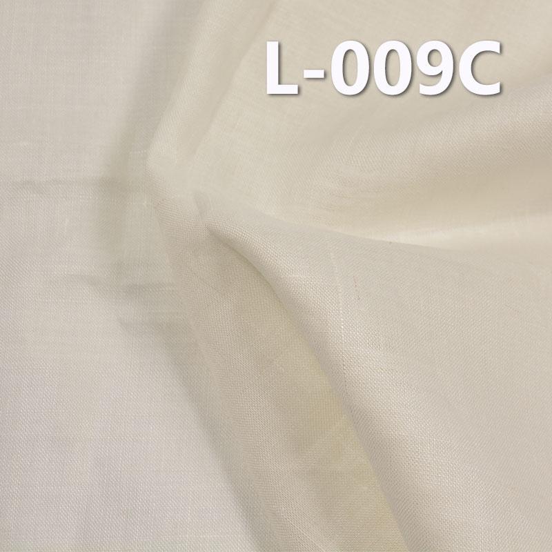 """【半漂】全麻布 120g/m2 42/44"""" L-009C"""