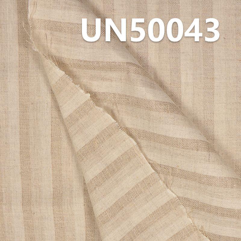 亞麻棉條子麻布 114g/m2 55/56