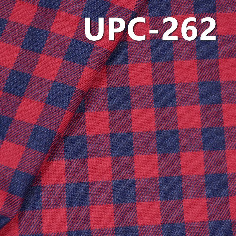 全棉学院风INDIGO色织格子 4.3OZ  57/58