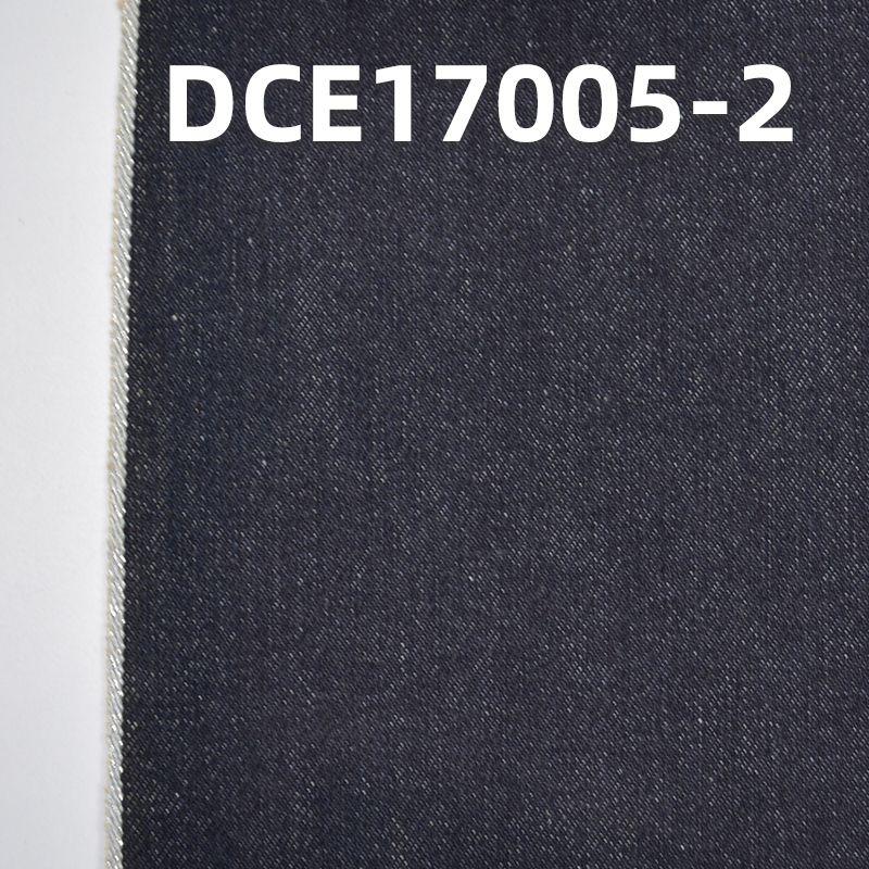"""特价全棉右斜红边牛仔布31/32""""DCE17005-2"""