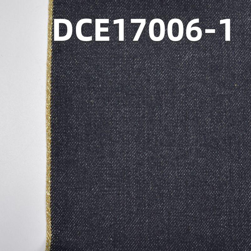 """特价 全棉红边牛仔布 30/31"""" 13.5oz DCE17006-1"""