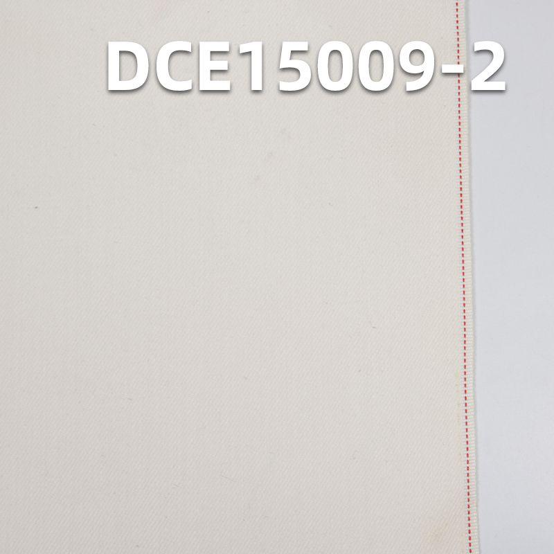 """98%棉2%氨纶 棉弹力左斜红边牛仔布 32/33"""" 9.7oz DCE15009-2"""
