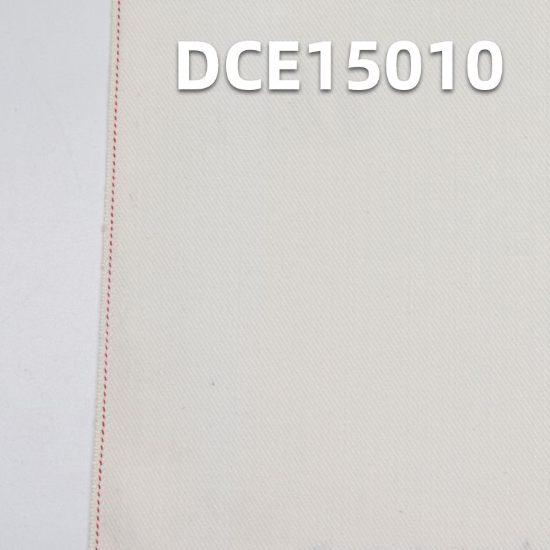 """98%棉2%氨纶 棉弹力左斜红边牛仔布 33/34"""" 9.6oz DCE15010"""