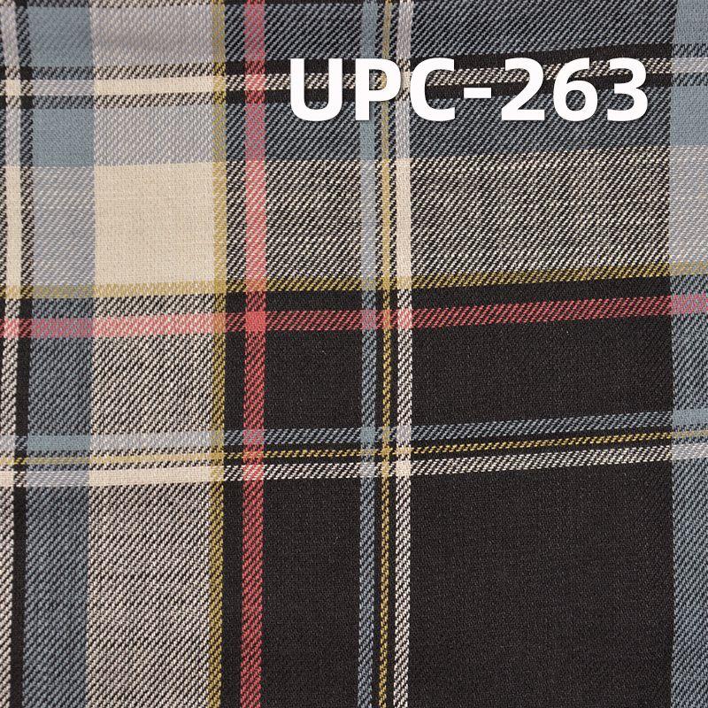 全棉学院风色织格子 4.7OZ 57.5