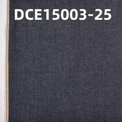 """全棉右斜红边牛仔布 32/33"""" 10.5oz DCE15003-25"""
