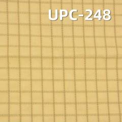"""棉色织格子布 151g/m2 62/63"""" 棉金属丝色织格子布 UPC-248"""