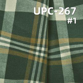 全棉波浪纹色织格仔布 曲线色织布130g/m2  57/58