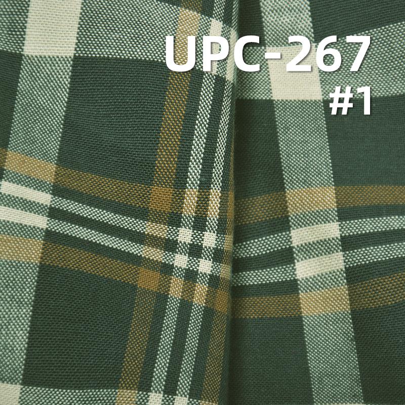 """全棉波浪纹色织格仔布 曲线色织布130g/m2  57/58"""" UPC-267"""